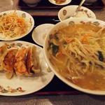湯麺&餃子