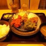 彩りミックス定食