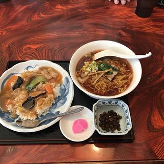 中華丼セット(ラーメン・定食・餃子の店 政宗 )
