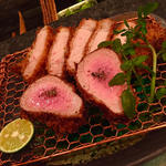 鹿児島黒豚と特上ヘレ(マンジェ )