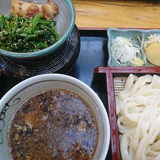 肉汁定食 ちくわと胡麻和え(小島屋 )