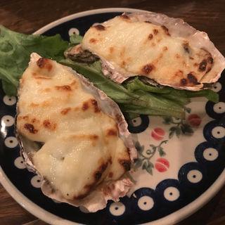 牡蠣のグラタン オイスターロックフェラー(オストレア 新宿三丁目店 (Ostrea))