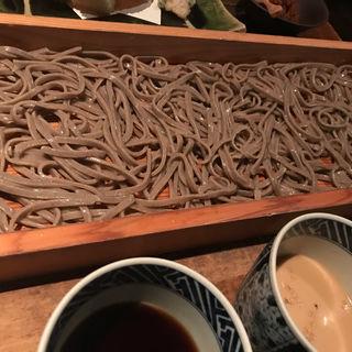 おためし蕎麦切り(板蕎麦 山灯香 (いたそばさんとうこう))