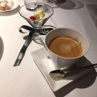 コーヒーと小菓子(リストランテASO (リストランテ アソ))