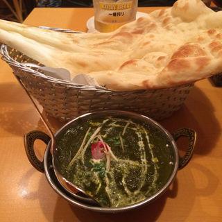 マトンとほうれん草のカレー(インディアンレストラン アールティ (Aarti))