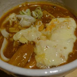 大人のカレーうどん+ラクレットチーズ(カレーうどん ひかり TOKYO )