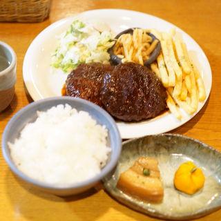 煮込みハンバーグ(Cafe 風和)