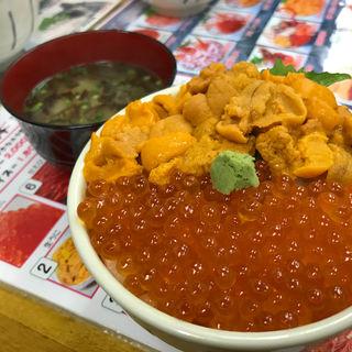 うにイクラ丼(北のどんぶり屋 滝波食堂)