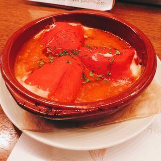 赤ピーマンの詰め物(エルプルポ (El Pulpo))