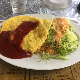 オムライス(レストランばーく )