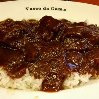 牛ゴロゴロ肉のカレー(ヴァスコ・ダ・ガマ )