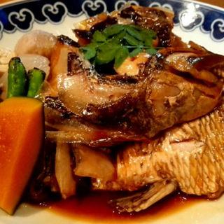 鯛あら煮(濱七 (はましち))