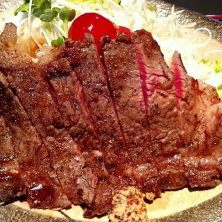 ステーキ定食(牛石)