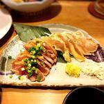 薩摩地鶏刺(酒処おやっとさぁ。)