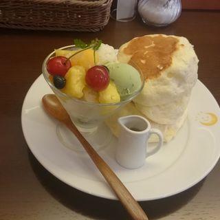 Color(カラー)パンケーキ(茶香 (チャカ))