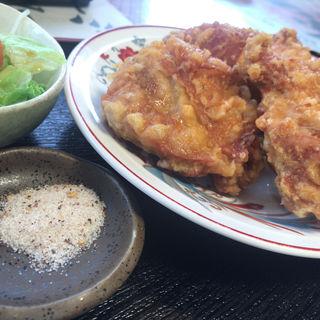 唐揚げ定食(香亭 (シャンティ))
