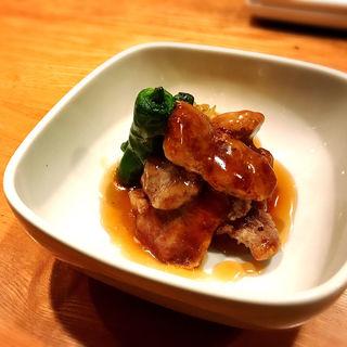 豚ヒレと長葱の治部煮(煮炊屋 金菜)