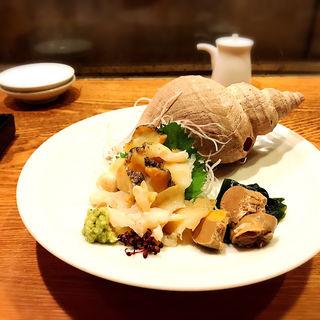 つぶ貝(煮炊屋 金菜)