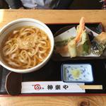 野菜の天ぷらうどん
