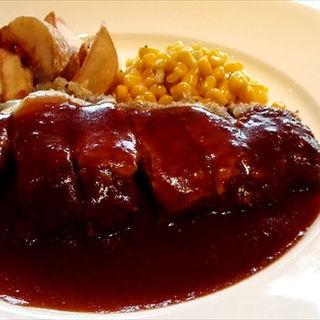 ビーフカツレツ(Jackson Beef Steak House)