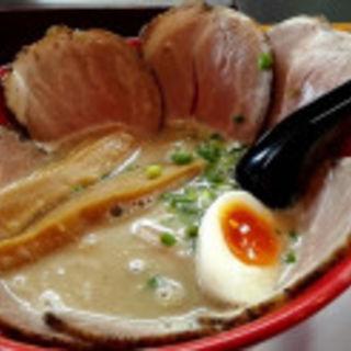 濁とろ塩チャーシュー麺(俺のラーメン あっぱれ屋 )