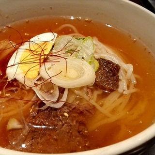 冷麺(薩摩焼肉 黒桜 (クロザクラ))