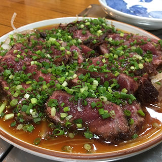 牛のタタキ(ちゃんこ琴)