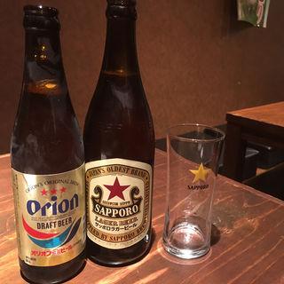瓶ビール(あかちょこべ)