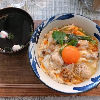 親子丼(喫茶 サンスーシー (sans-souci))