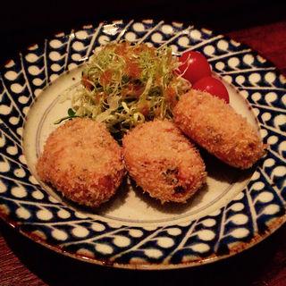 大豆コロッケ(家庭料理 おふく)