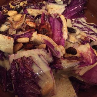 有機野菜赤キャベツのブルーチーズ焼き(VIVO)