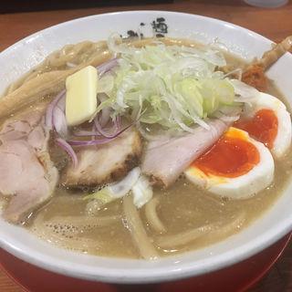 濃厚味噌らーめん(麺匠 中うえ  )