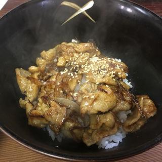 日替わりミニ丼(焼き肉丼)(百千萬 )