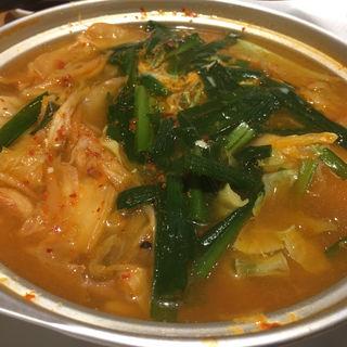 豆腐チゲ鍋(宝雲亭 薬院)