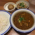 チキン豆カリー