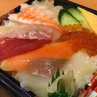 海の幸 満彩ちらし 一人前(かっぱ寿司 西京極店 )