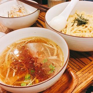 炙り豚和塩つけ麺(麺やひだまり )