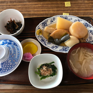おでん定食(仙岩峠の茶屋)
