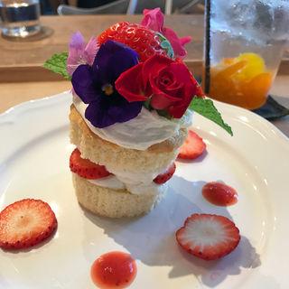 苺の春ケーキ(ソビノワ)