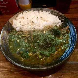 インド風カレー 牛すじ+サグソース(カレーノトリコ )