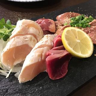 お刺身の盛り合わせ(旬菜とりなべ マルニ)