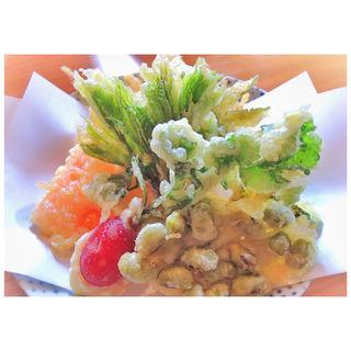 野菜天婦羅(すぎやま )