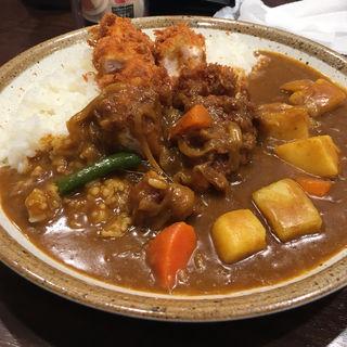 ささみカツカレー+野菜(カレーハウス CoCo壱番屋 西枇杷島店 (ココイチバンヤ))