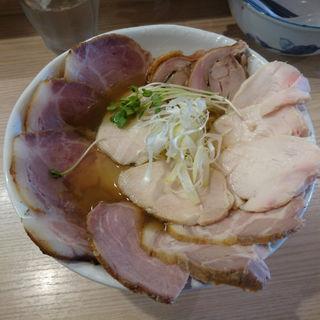煮干しの塩鶏そば(チャーシュー増し)(鶏谷 (トリタニ))