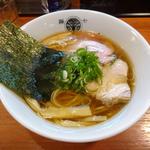 鶏煮干醤油らぁ麺(らぁ麺 とうひち )