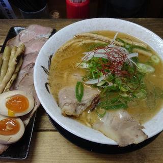 蟹塩そば+特製裕盛り(麺屋 裕 )
