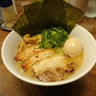 とりとんこつらーめん+キラメキスペシャル(キラメキ チキンハート )