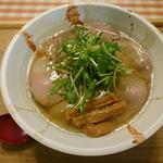 白・鶏魚介醤油(チャーシュー増し)