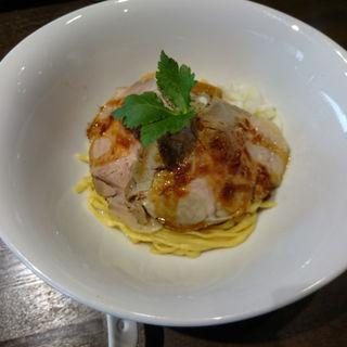 ローストポークまぜ麺(熱豚)