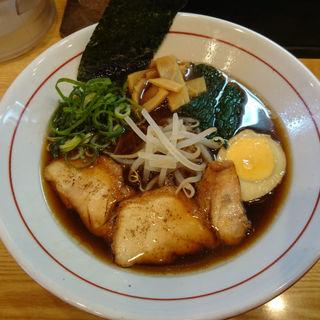 醤油ラーメン(Halal麺亭 祇園 成田屋 (ハラルメンテイ ギオン ナリタヤ))